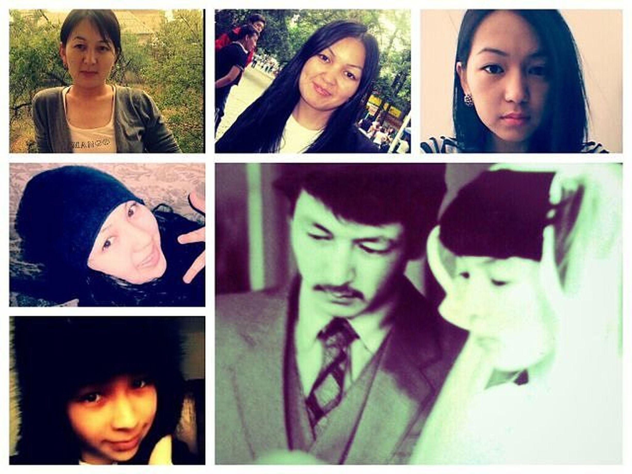 Моя СЕМЬЯ😚😚😚 Люблю вас мои родные семья ТАБАЛДИЕВЫ родители сестры