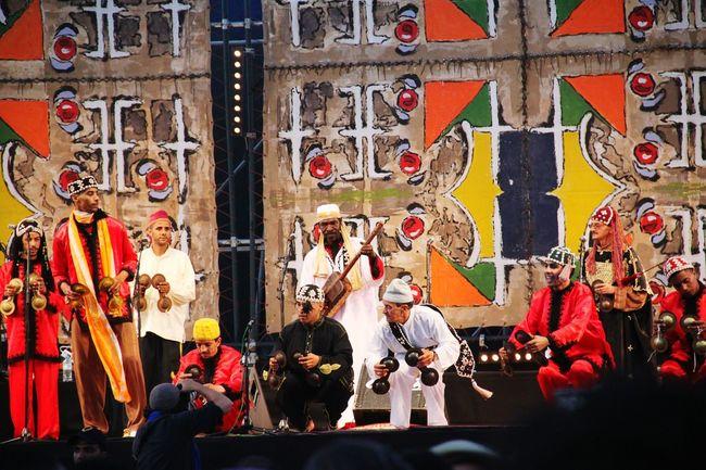 Music Festival Colorsplash Musician Mural Art Instruments Traditional Costume Live Music Gnawa Music 🎧 Artgallery