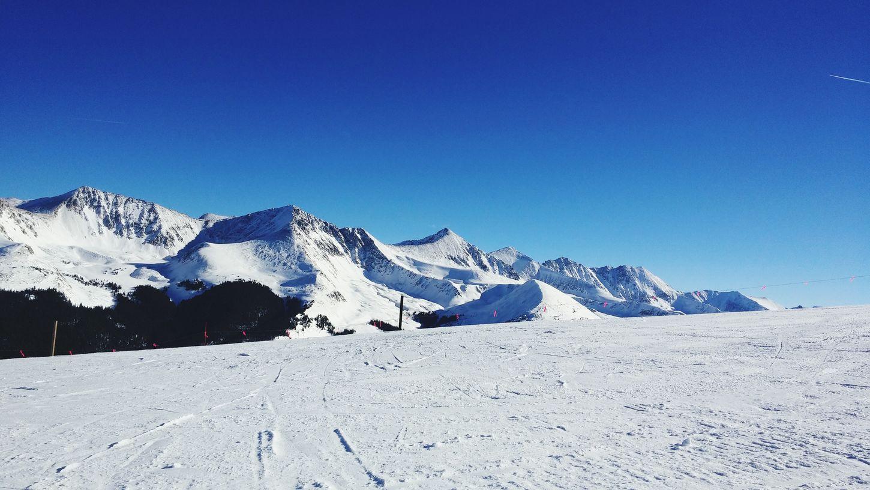 Snowboarding Rockies Copper  Timber Line Colorado