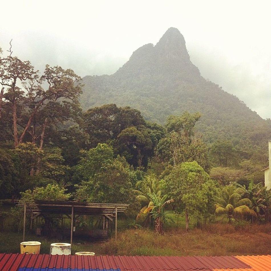 My view for the next 5 days.. Gunung Santubong.. Borneotrip