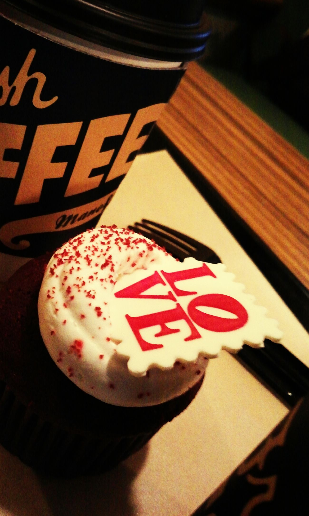 LOVE Cupcakes Americano Manoffin Coffee