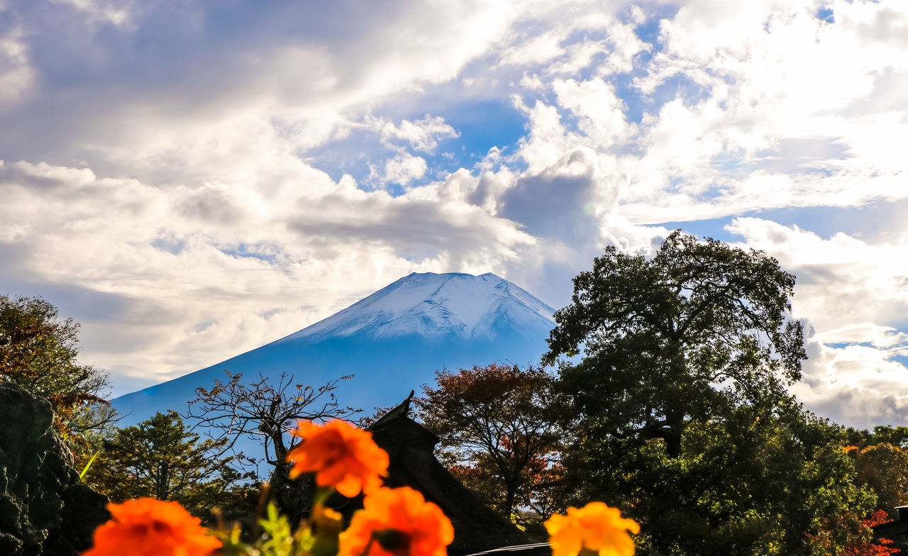 A Series Of Fuji Mountain's Picture -9 Snow Mountain Fuji Mountain EyeEm Best Edits Eye Em Nature Lover Mt.Fuji Autumn Fujimountain Mountain View Colors Of Autumn