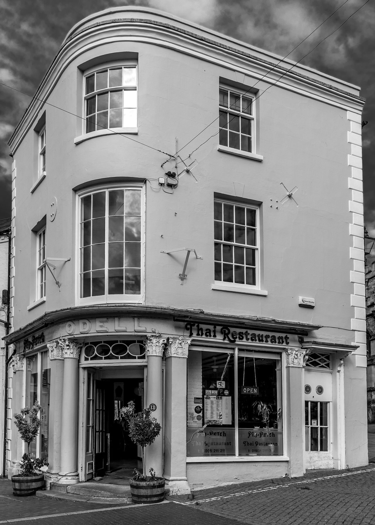 Former hardware shop, Odell's, High Street, Newport Pagnell, Buckinghamshire Newport Pagnell Buckinghamshire Monochrome Black And White Architecture High Street Shops