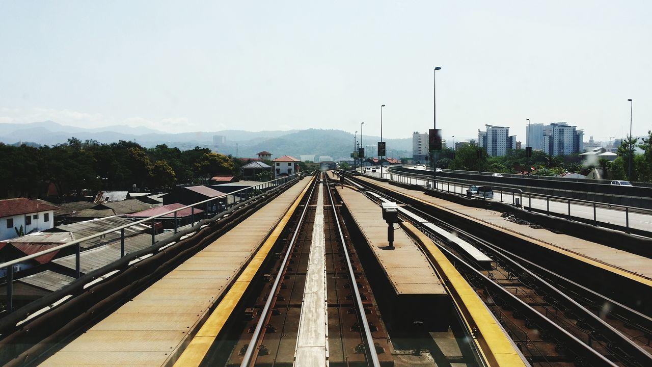 Beautiful stock photos of train, , Horizontal Image, connection, diminishing perspective