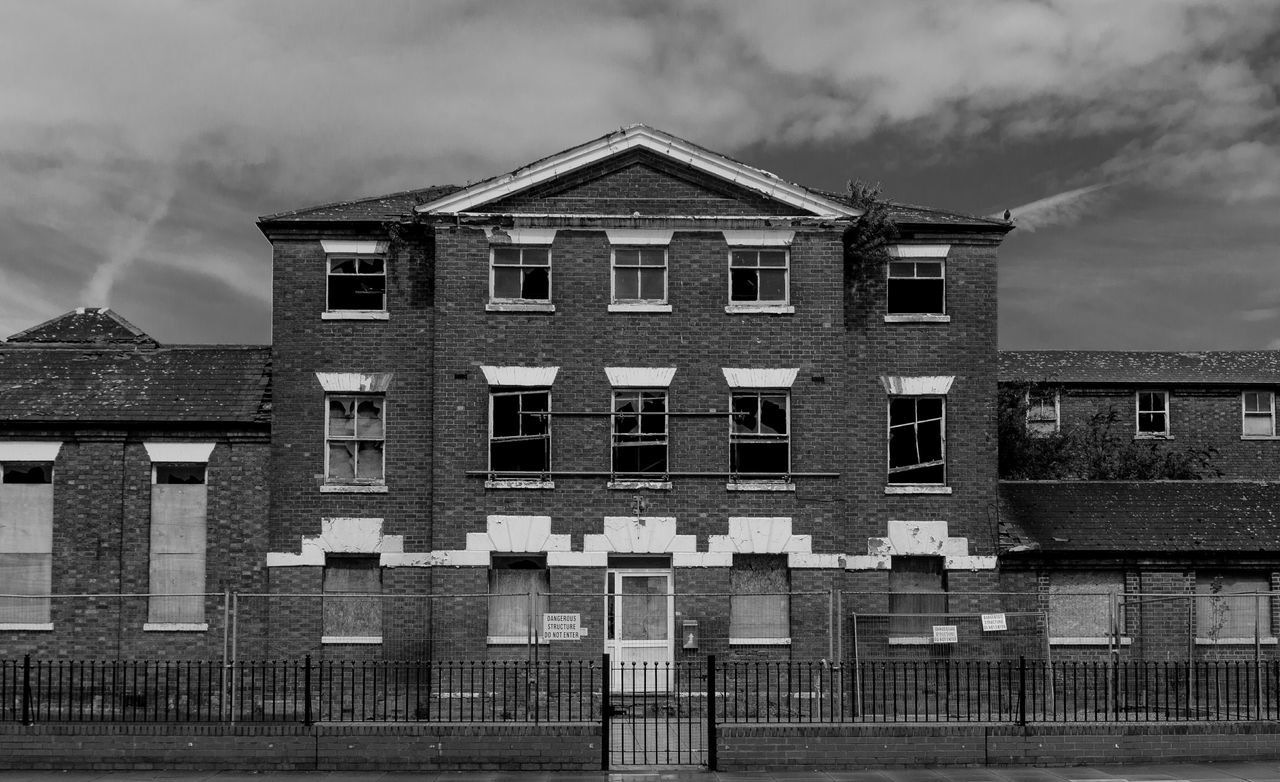 Union Workhouse, Wellingborough Road, Northampton Monochrome Black And White Architecture Urban Northampton Workhouse