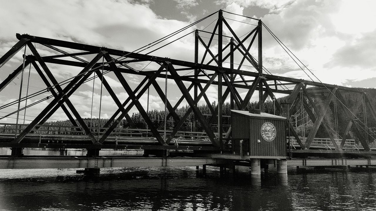 Carcross White Pass Train Photography Yukon Territory Yukonterritory Bridge Railway Bridge Canada Monochrome Black And White Photography Black & White