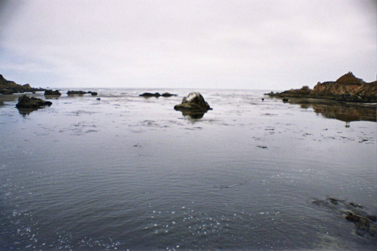 Sea Water Sky Tranquil Scene Rock - Object Tranquility Rock Nature Horizon Over Water No People Idyllic Beach Portra800 La Sardina Koduckgirl Film Carmel Highlands
