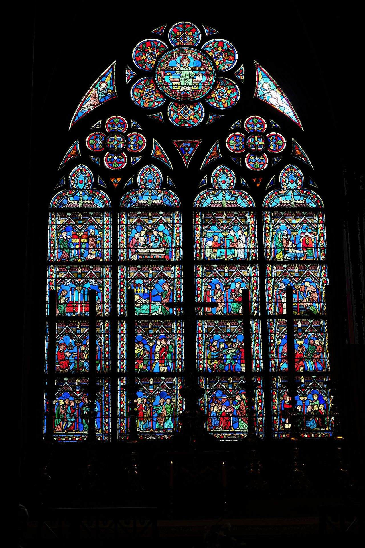 Cathedral Cathedrale Notre Dame Notre Dame Cathedral Notre Dame Cathedral Paris Notre Dame De Paris Notre-Dame Place Of Worship Religion Spirituality Stained Glass Stained Glass Stained Glass Art Stained Glass Window Window