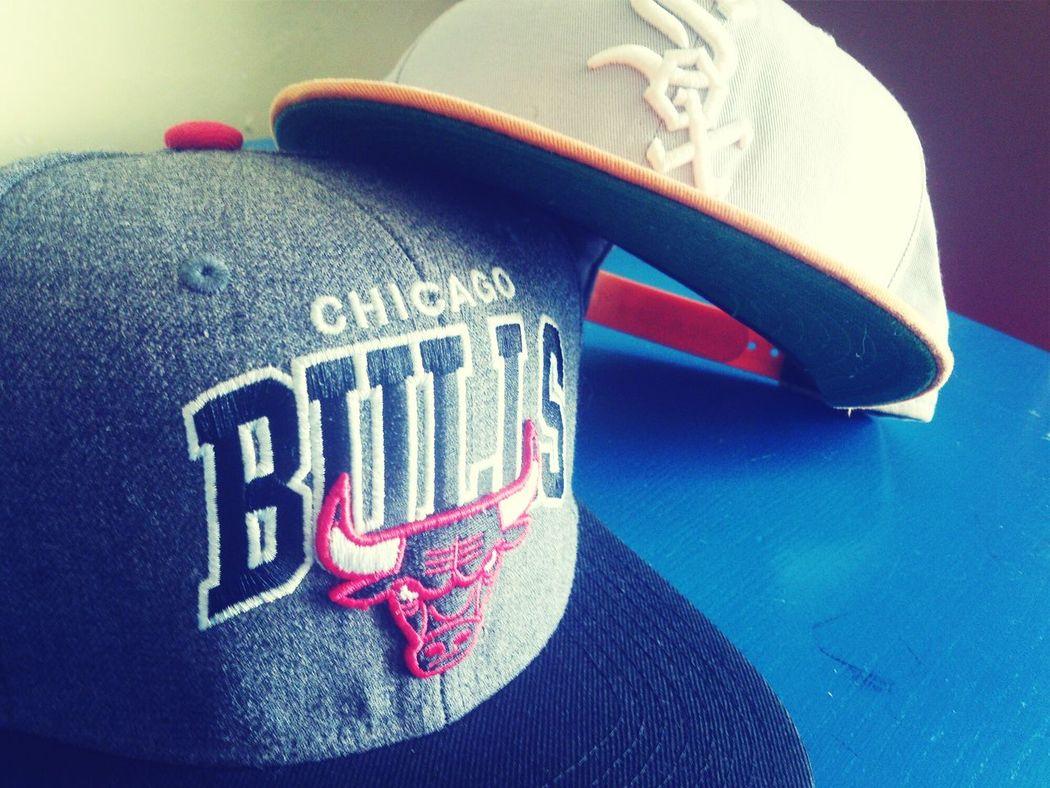 Bulls ❤ Chicago White Sox Snapbacks