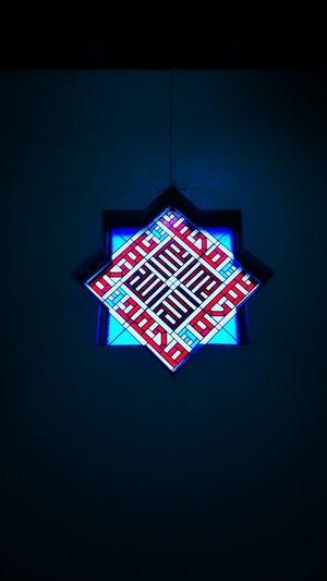 light No People Indoors  Illuminated Night Blue Architecture Close-up