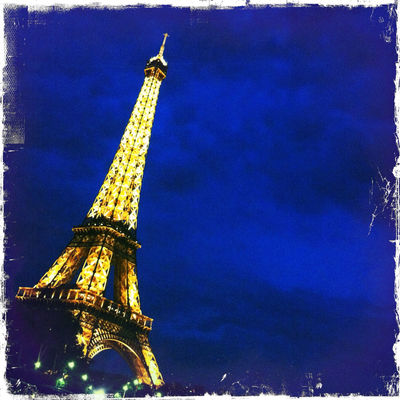 Taking Photos at Tour Eiffel by L'houari Or