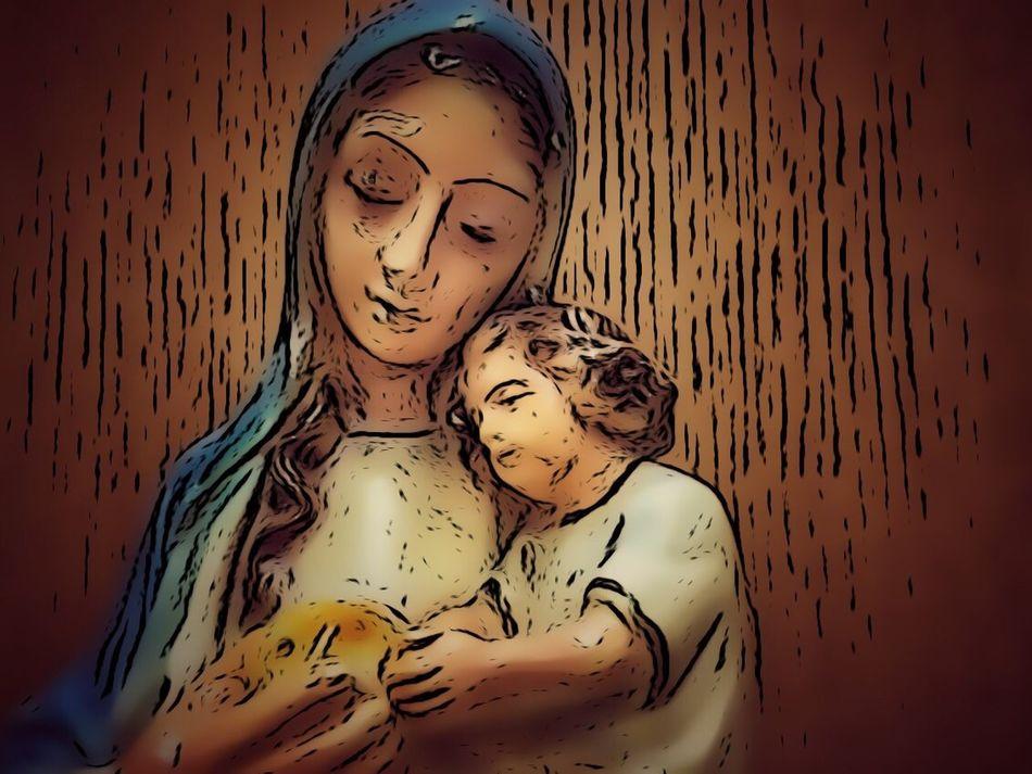 Madonnaandchild Catholic Virgin Mary