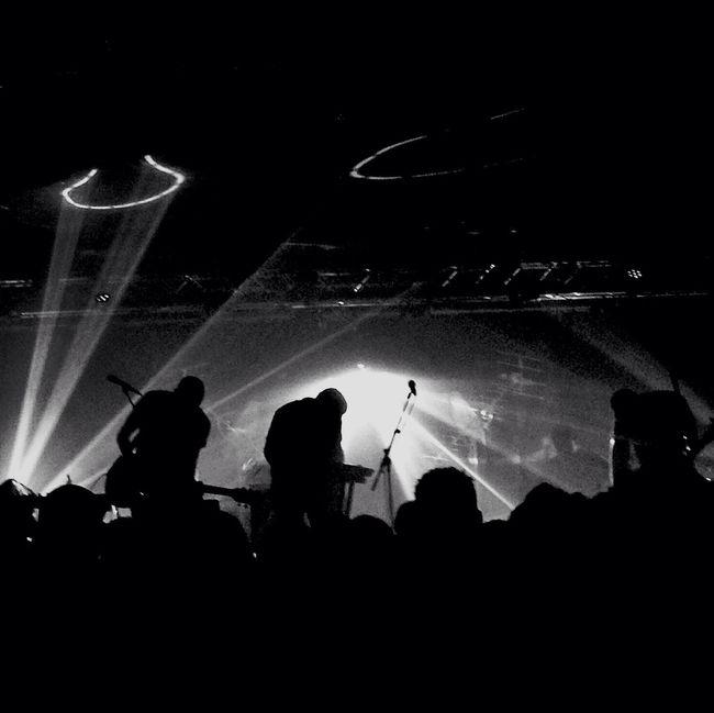 BirdPen band à Paris Concert Blackandwhite