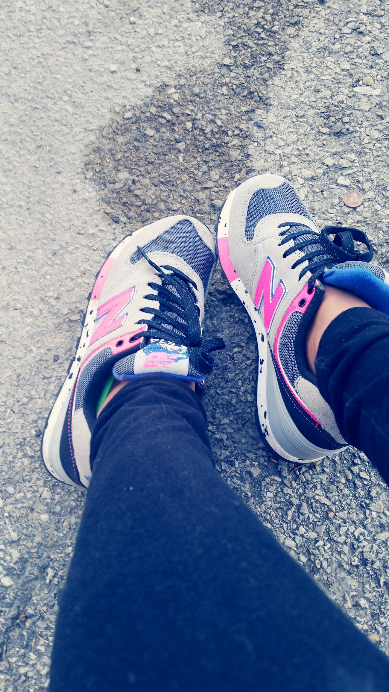 favorite shoes ! Chicago New Balance Hotpink Fresh Spotted