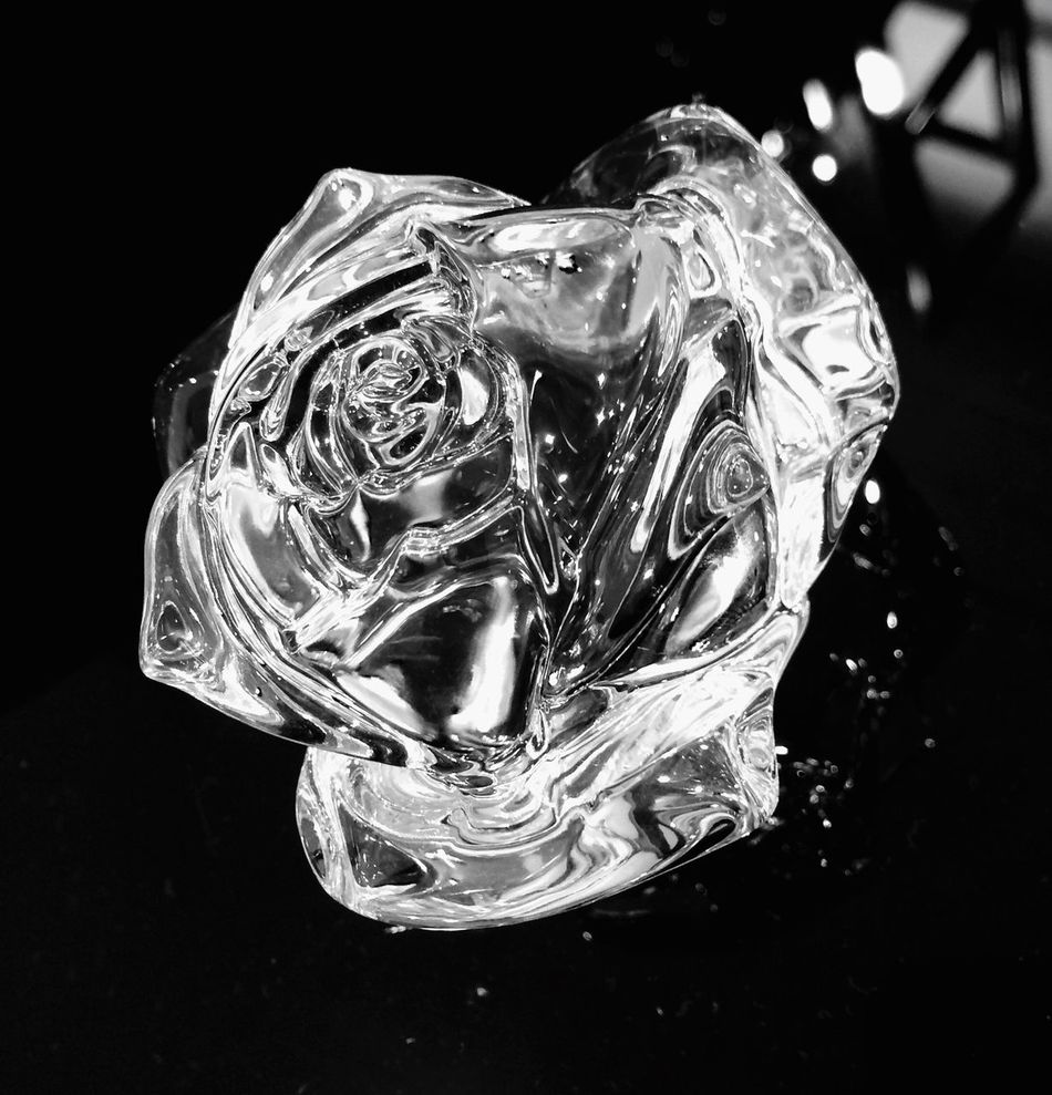 Crystal Roses Waterford Shades Of Grey Your Design Story Bnw_friday_eyeemchallenge Monochrome Photography
