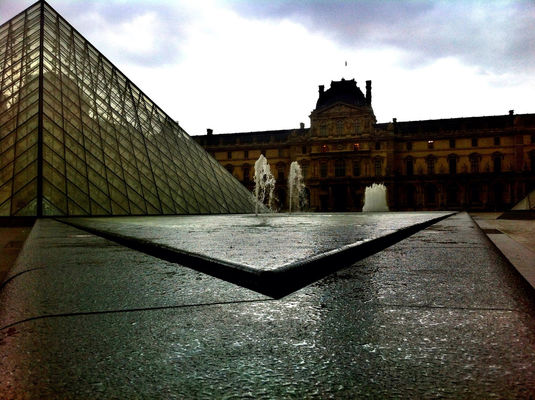 At an exhibition at Musée du Louvre by Gldrk