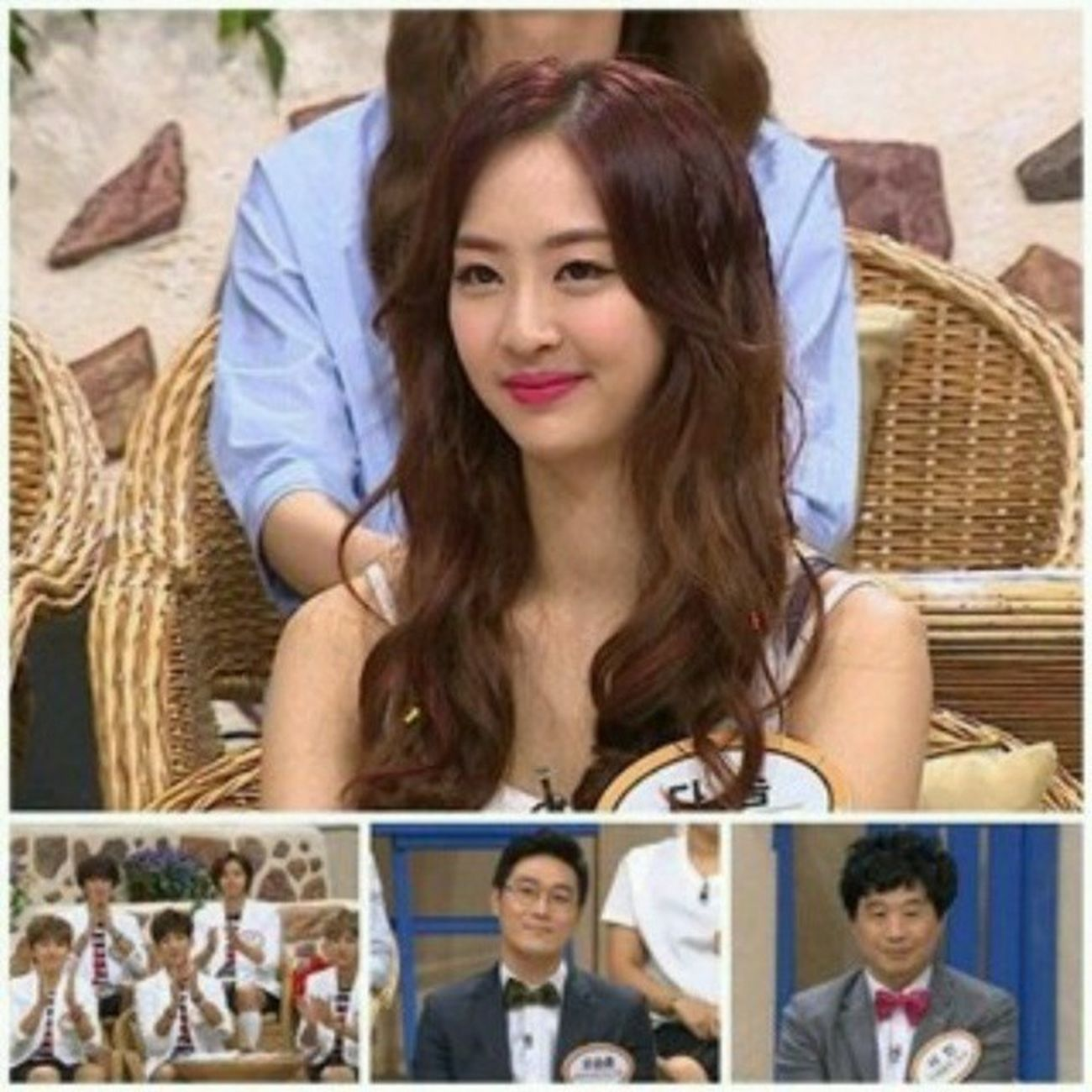 140823 Sistar Dasom @ MBC World Changing Quiz
