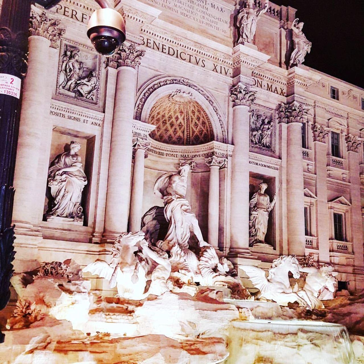 History Religion Architecture Sculpture Statue Travel Destinations TreviFountain Rome Italy Architecture