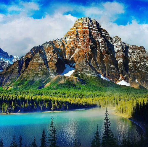 Water Nature Reflection Mountain Landscape Mountain Range Sky Lake