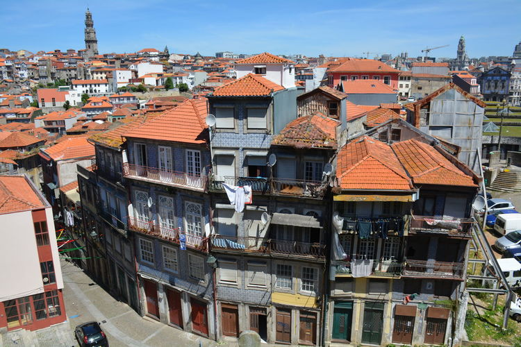 Outdoors Architecture No People Building Exterior Day Sky Streets Streetphoto Portugal Porto Portugal 🇵🇹 Porto Cloud - Sky Balcony Architecture City Travel Destinations Azulejos Porto Portugal Azulejos Azulejo Azulejosportugueses