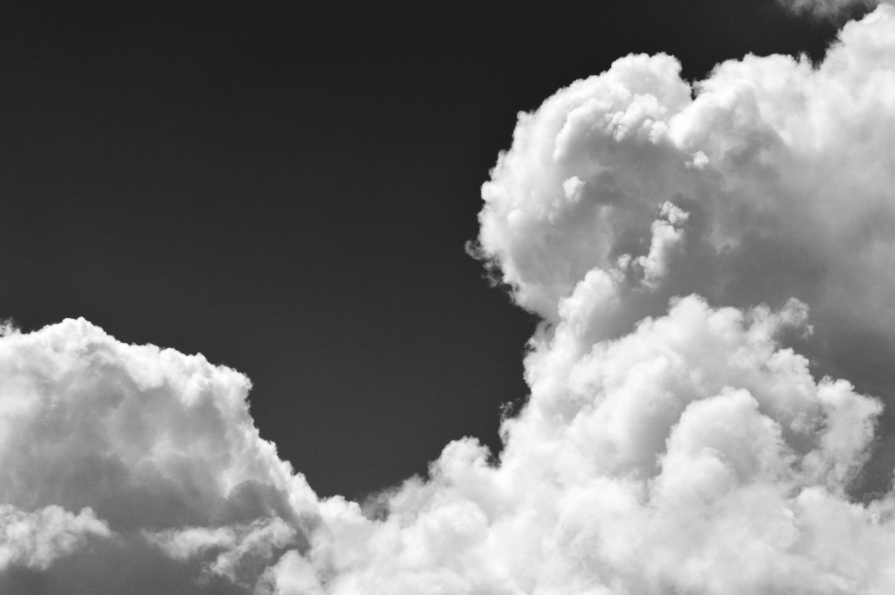 Recent cloudscape... Beauty In Nature Black & White Black And White Blackandwhite Bnw_clouds Bnw_friday_eyeemchallenge Cloud Cloud - Sky Clouds And Sky Cloudscape Composition Cumulus Cloud Day Germany Heaven Low Angle View Nature No People Outdoors Sky Sky And Clouds Sky Only Skylovers Tranquility