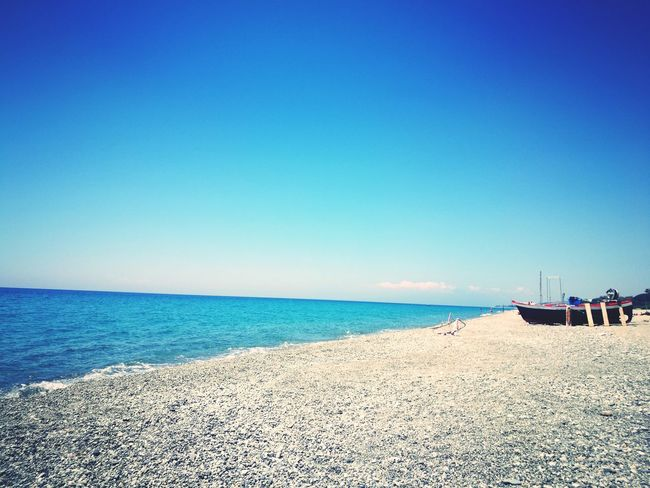 Summer Beach Sea Vacations Horizon Over Water Sunny Summer Tranquil Scene Beauty In Nature