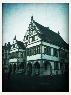 at Rathausplatz Paderborn by chilibean