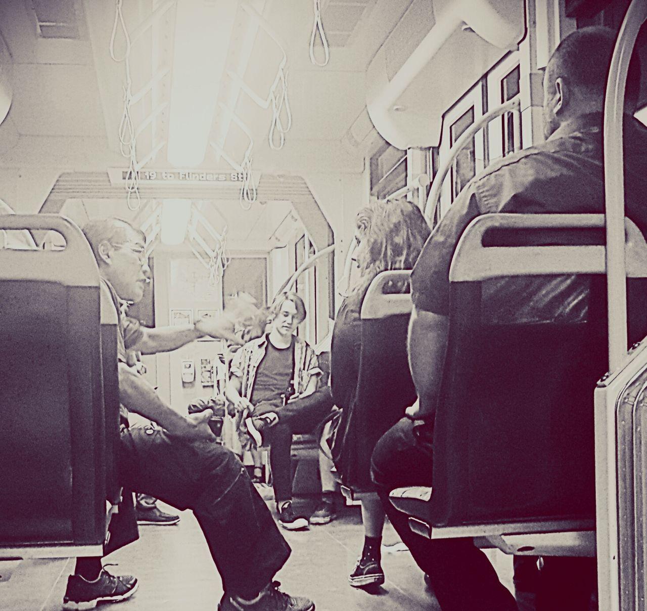 Peace ✌ Conversations Randomchats Talking Talk Tram