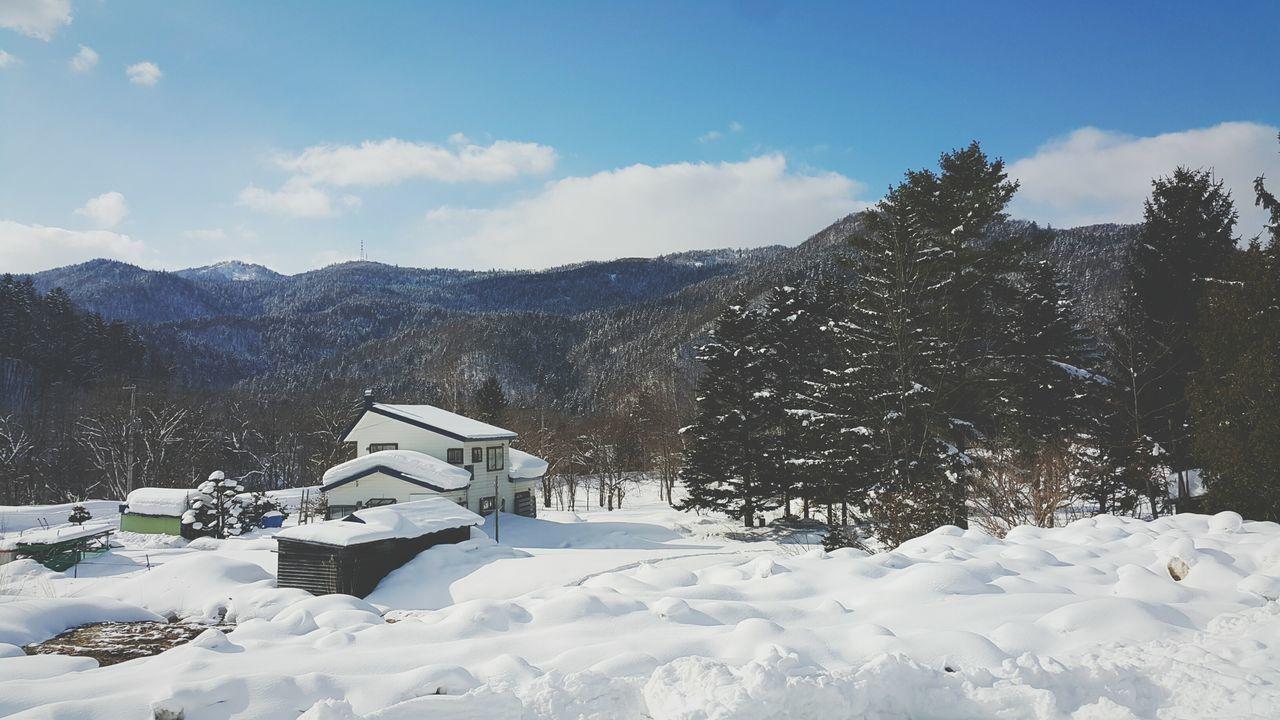 Winter Snow Mountain Sapporo Onsen Trip Galaxy Note 4