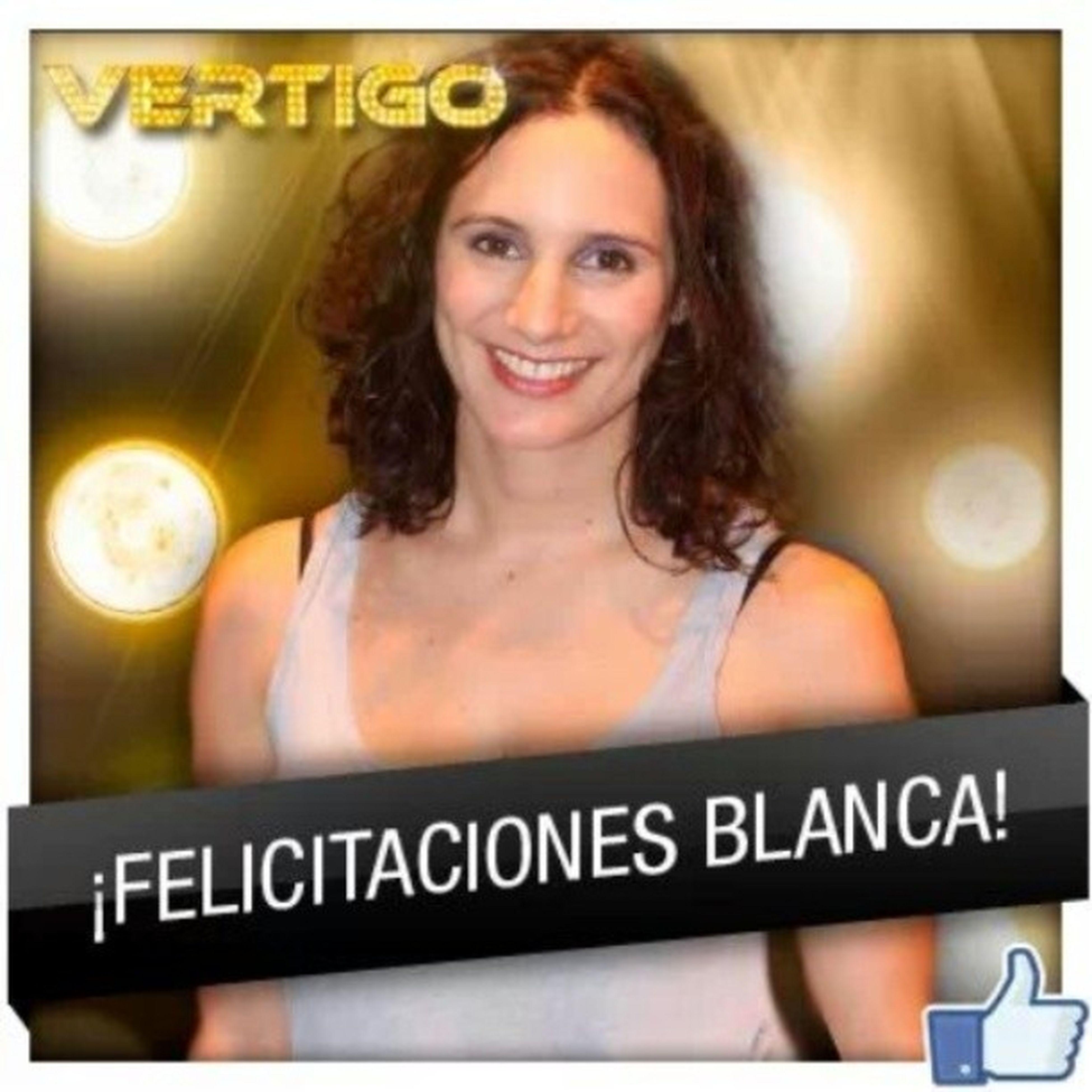 Felicitaciones BlancaLewin Gran Ganadora Vertigo