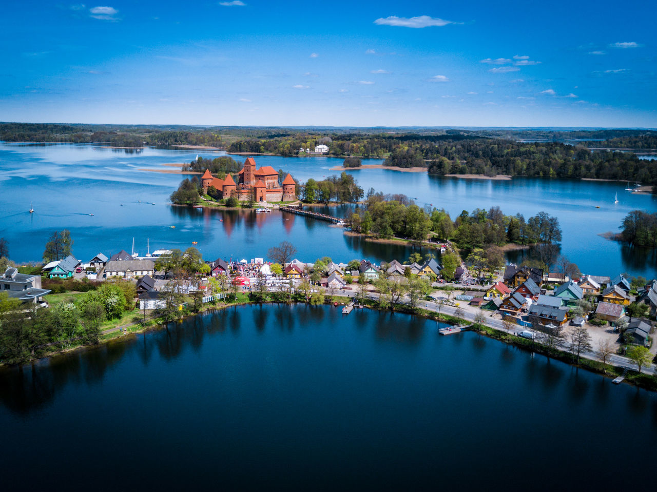 Trakai castle in Lithuania - tourist attraction in Lithuania Architecture Attraction Beauty In Nature Built Structure DJI Mavic Pro Drone  High Angle View History Lake Lithuania Mavicpro Medieval Nautical Vessel Old Reflection Scenics Sightseeing Tourism Trakai Trakai Castle Trakai Island Castle Tranquil Scene Tranquility Village Water Neighborhood Map