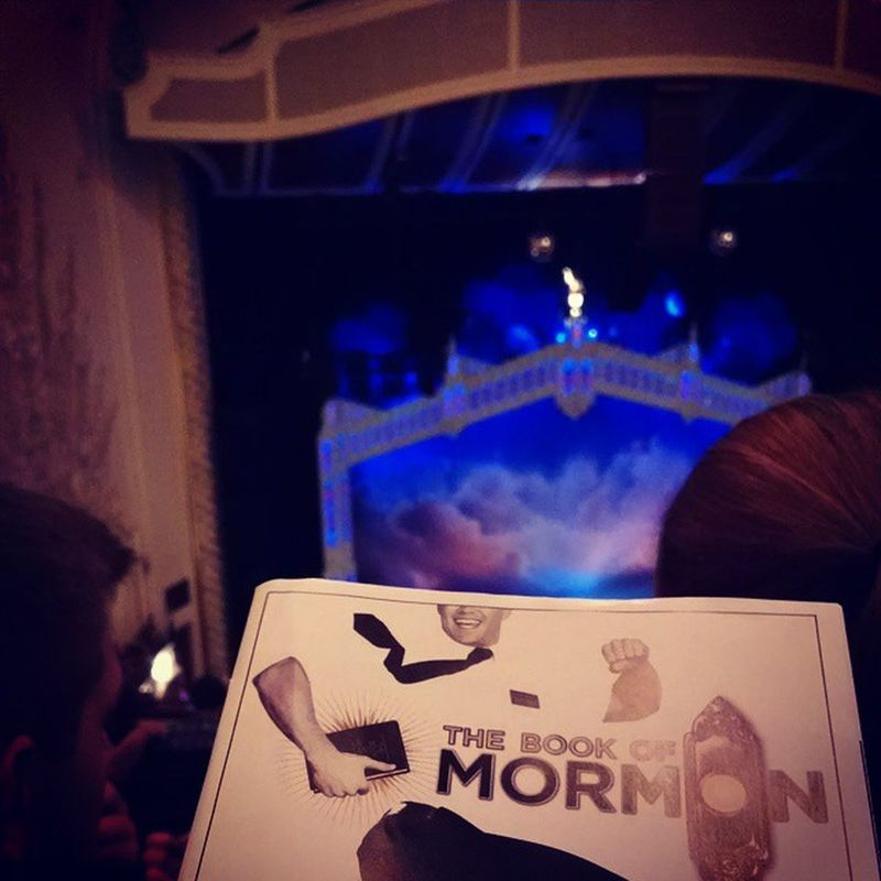 LETS DO THIS Bookofmormon Theater Pittsburgh Secondpostinonenight muchhelpneeded