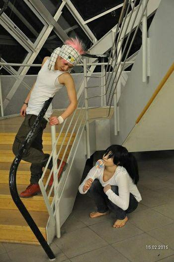 Natsu Natsu Dragneel Death Note natsu x female L Cosplay Cosplayer Cosplay<3 Cosplaying Japanstyle Fun Anime