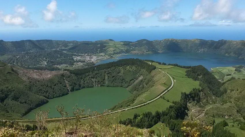Landscape Nature Outdoors Beauty In Nature Scenics No People Azores Portugal Island Lagoa 7 Cidades Calderaview Caldera