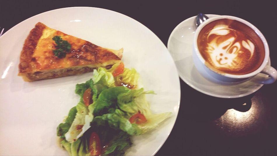 Breakfast Love Life Latte Morning