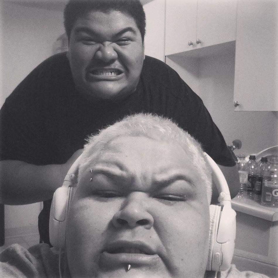 Me&&theBroskii Funtimes FamilyOverEverything Bros4Life Loveum myfavv QT fuckingaround hungryHAWAIIANS