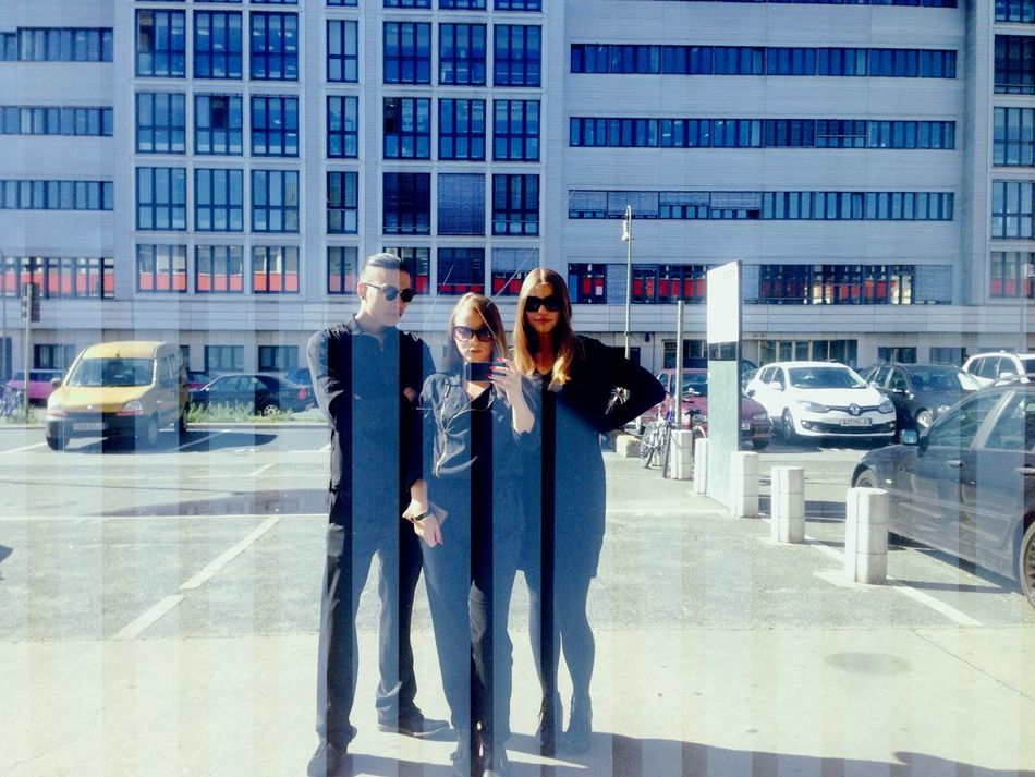 Just came from Berghain . Team Spirit Corporate Look Man In Black