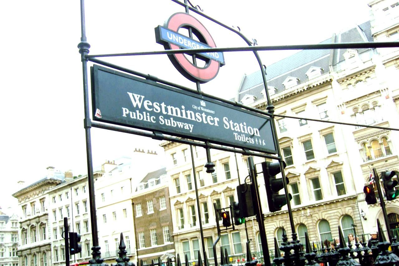London Tube Tube Station  London Underground Westminster City Architecture Outdoors