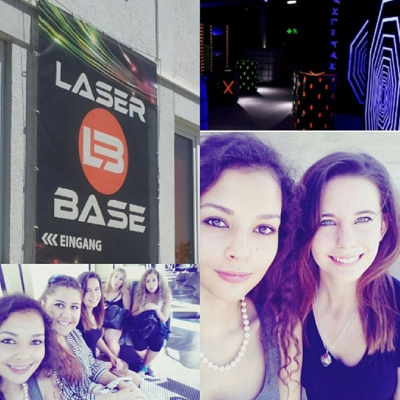 Wuuuuh. Lasertag war sooo geil. *-* @demi_fatima @esroshum_1907 @siciliana_96 @jackyawyeah Laser Lasertag Fun Schießen laserbase
