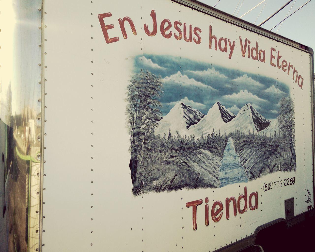 Jesus Eternal Life Urban Landscape Walking Around Mobile Photography Oneplus One