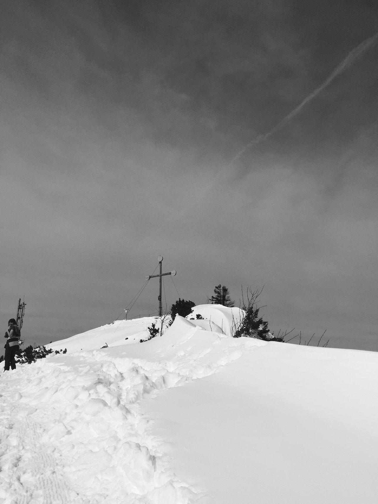 Rauschenberg Gipfelkreuz Chiemgau