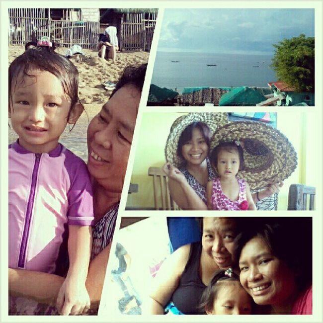 we <3 beach Juneswimming Laiya HappyAcey