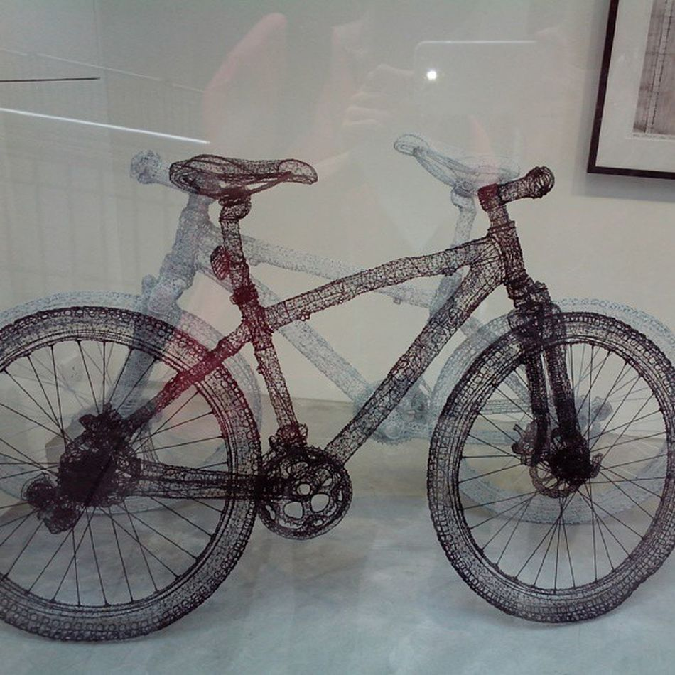 Passed By Bicycle Art Gallery Hong Kong