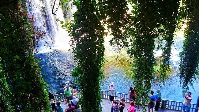 Antalya People Green Waterfall Nature Nature Landscape Trees Blue Taking Photos People Photography Enjoying Life.. ♥✨👈