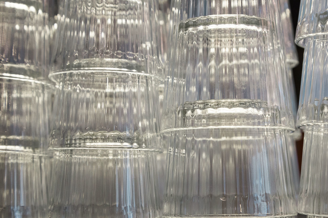 Close-up Day Glass Indoors  Large Group Of Objects No People Transparent Water