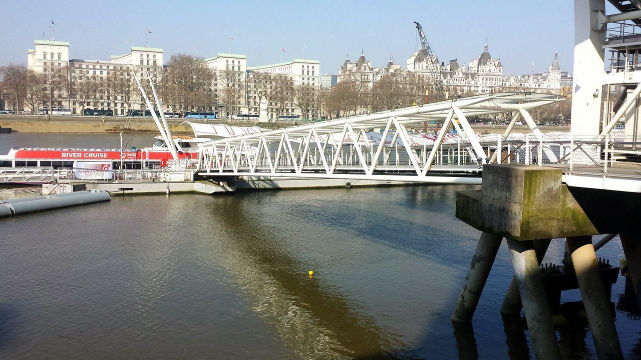 River View Bridge Reflection