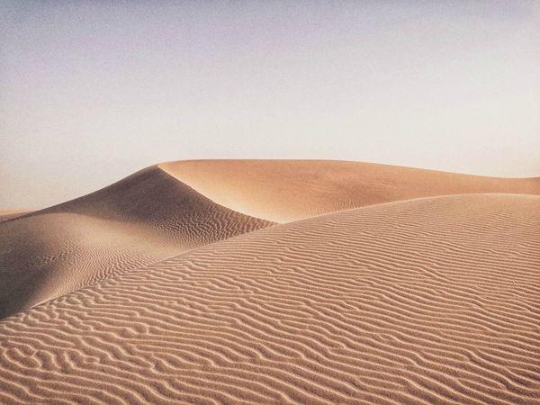 Desert in Qatar Desert Qatar Qatarlife Qatarairways Doha Sand Dune Sand