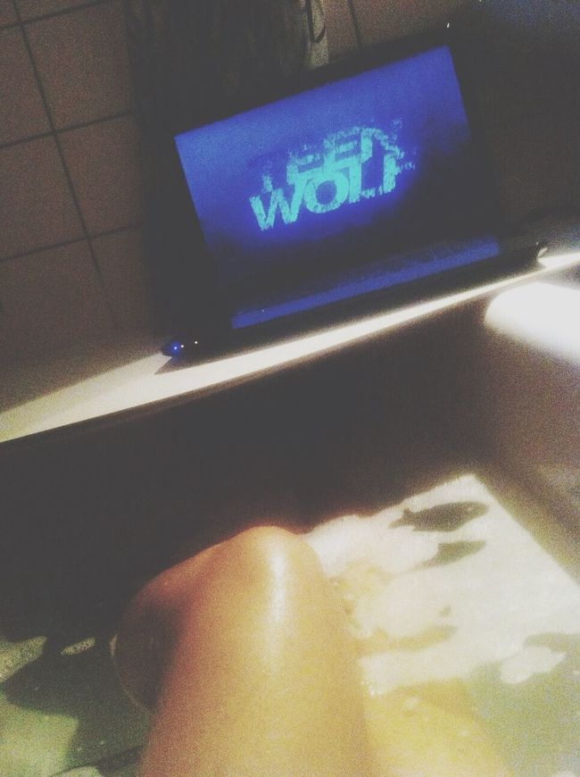 Teenwolf Water Inmybadroom Relax Time