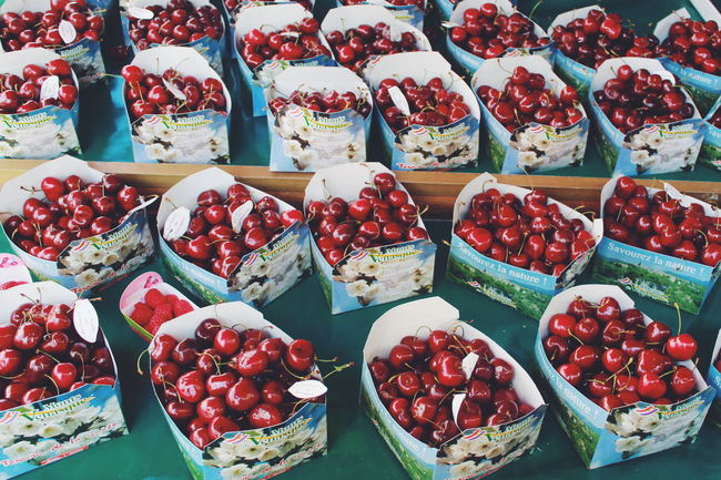 Abundance Arrangement Berries Cherries Cherry Choice Close-up Composition Eyeem Market Farmers Market Food Food And Drink Freshness Fruit Going To Market Healthy Eating Large Group Of Objects Market No People Organic Red Ripe Still Life Table Variation