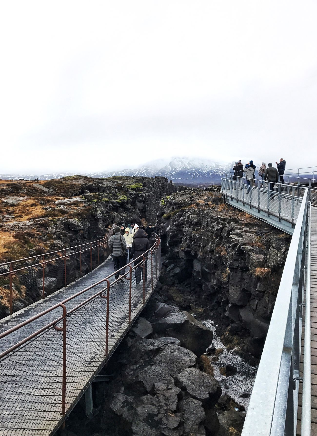 Golden Circle Iceland Mountain Thingvellir National Park Tectonicplate Fissure In Nature Tectonic Ridge